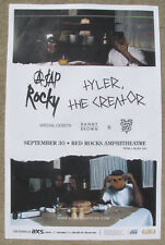 A$Ap Rocky & Tyler The Creator Red Rocks 2016 Concert Flyer 11x17 Gig Poster