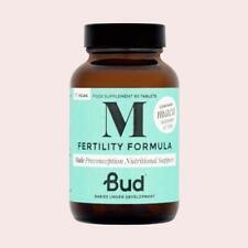 Bud Nutrición la fertilidad masculina fórmula años 60 + Zinc Selenio Vitamina D Maca RRP £ 23