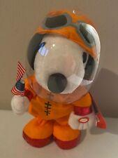 Peanuts Snoopy Animated Astronaut Apollo 50th Anniv Dances & Says 3 Fun Phrases