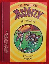 Astérix. Combat des Chefs + Chez les Bretons. Ed. Luxe Dargaud 1984. RARE