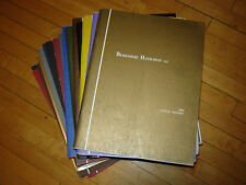 Berkshire Hathaway Annual Report Lot of 16 2002-2017 Plus More Warren Buffett