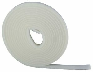 Joint mousse polyester PVM - Blanc - Largeur 15 mm
