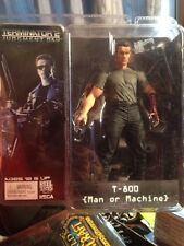 """Terminator 2 T2 T-800 Man or Machine 7"""" Action Figure T800 Endoskeleton By NECA"""
