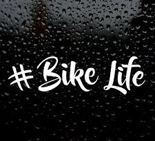 #bikelife vita BICI Divertente Auto/Furgone/Paraurti/Finestra Adesivo MTB Motocross BMX Insta