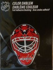 Washington Capitals Sp Edition MASK Raised Color Chrome Auto Emblem Decal Hockey