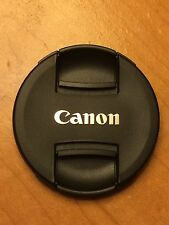 Genuine CANON 58mm LENS CAP SNAP-ON Model E-58II Taiwan Made