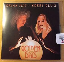 BRIAN MAY & KERRY ELLIS Golden Days 2017 UK 13-trk no'd promo test CD SEALED