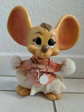 RARE VINTAGE ROY DES OF FLA 1970 MOUSE BANKS BIG EAR CHEERLEADER