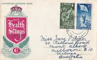 NZFD52) NZ 1953 Buy Health Stamps for Children's Health Camps