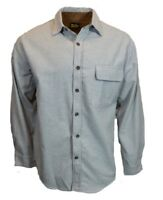 Work n Sport Mens Long Sleeve Flannel Button Up Down Shirt 100% Cotton NEW