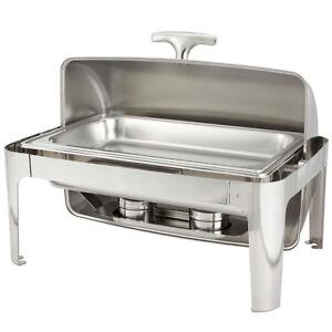 Madison Chafer, 8 quart, full size, 18/10 stainless steel frame