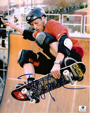 TONY HAWK AUTOGRAPHED 8 X 10 PHOTO WITH COA