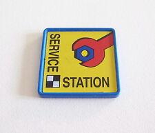 PLAYMOBIL (R314) GARAGE - Pancarte Service Station Atelier Réparation Motos 3992