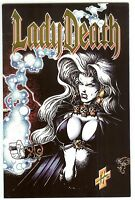 LADY DEATH II Between Heaven & Hell #1 Commemorative Edition~Pullido~Hughes~NM/M
