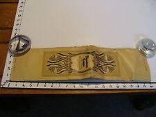 "1910's Original DENNISON CREPE PAPER, unused CANARY #62 YELLOW 10"" X 20"" bent"