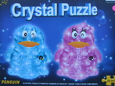 3D Penguin (Pink) Crystal Puzzle Jigsaw (from US Seller)