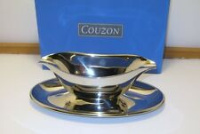 "Couzon  ""Residence""  Sauce/Gravy Boat -France -New -18/10 Stainless Steel"