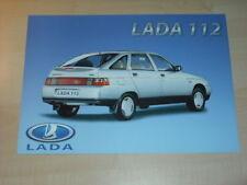 23521) Lada 112 France Prospekt 199?