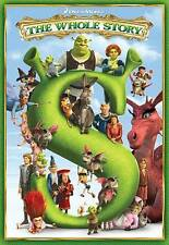 Shrek: The Whole Story (Dvd, 2010, 5-disc set, all 4 movies + holiday show) New