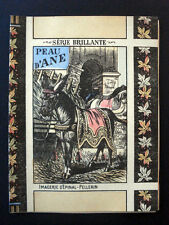 Vintage Child's Imagerie Pellerin Peau d'Ane Serie Brillante Book Inv1501
