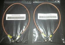 Motorola GR300 GR500 CDR700 CDR500 Duplexer Cables RX & TX RG400 BNC Repeater