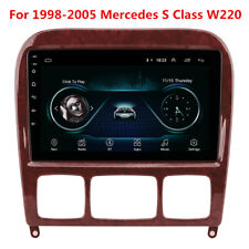 Android Radio GPS For 98-05 Mercedes Benz W220 S280 S320 S350 S400 S430 S500 600