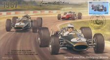 1967a BRABHAM-REPCO BT24s FERRARI NURBURGRING F1 cover signed JONATHAN WILLIAMS