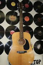 Vintage Epiphone 1980's PR500 Acoustic Guitar PR500N NICE Gibson W Gig Bag