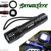 Zoomable 6000Lumens 3 Mode CREE XM-L XPE LED 18650 Flashlight Torch Lamp Light
