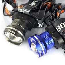 Zoomable 11000Lumen T6 LED Headlamp Flashlight AA Headlight Fishing Head Torch