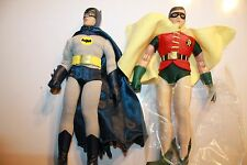 BATMAN 1966 TV SERIES 1; BATMAN & ROBIN 8 INCH FIGURE NEW IN POLYBAG ADAM WEST