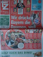 Newspaper UEFA CL Finale 2012 Bayern München - Chelsea FC