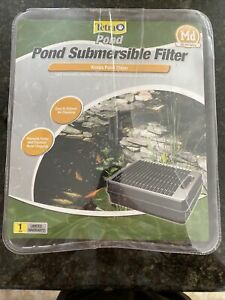 Submersible Flat Box Pond Filter TetraPond Gold Fish Koi Fresh Water, NEW 4.7 av