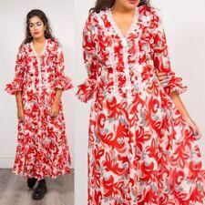Unbranded 3/4 Sleeve Boho Dresses for Women