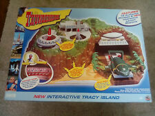 boxed THUNDERBIRDS TRACY ISLAND SOUNDTECH PLAYSET 40th anniversary + 2 VEHICLES