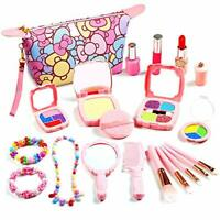 Kids Makeup Kit, 20PCS Pretend Play Makeup for Girls
