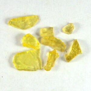 27.90 Cts Wholesale Lots Natural Namibia Lemon Quartz Rough Loose Gemstone