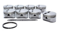 D.S.S. Racing SBC 4.030 in Bore E Series Forged Piston 8 pc P/N 8715-4030