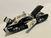 Maisto 1969 Dodge Charger R/T Highway Patrol Code Enforcement 1/24 Scale