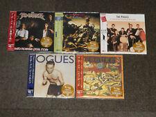 FREE SHIPPING 2017 THE POGUES 5  JAPAN MINI LP SHM CD SET
