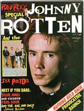 PUNK ROCK SPECIAL #1 1978 SEX PISTOLS JOHNNY ROTTEN Sid Vicious PAUL COOK Jones