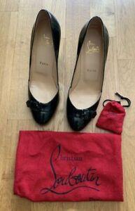 Original Christian Louboutin Schuhe, Pumps, Größe 38, dunkelgrün, neu