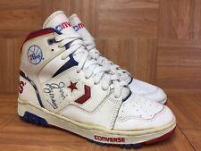 Vintage🔥 Converse Julius Irving Era 76ers Autographed Basketball Shoes 1980's 9