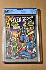 Avengers #92 CBCS 5.0 (not CGC) Avengers Disbanded