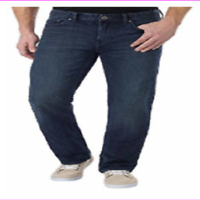 CALVIN KLEIN MEN Straight Leg Zip fly with button closure Sit below waist JEANS