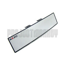 RAZO RG23 300mm Convex Wide Rear View Mirror Clip-On Universal Fitment Carmate