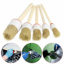 5Pcs Soft Car Detailing Brushes Tool kit for Cleaning Dash Trim Seats Wheels