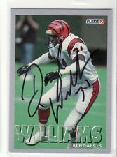 DARRYL WILLIAMS CINCINNATI BENGALS MIAMI UNIVERSITY AUTOGRAPHED CARD