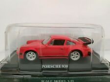 1/43 PORSCHE 911 TURBO 930 COCHE METAL ESCALA DIECAST