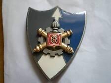 Insigne 6° REGIMENT du MATERIEL de BESANCON/ ARTHUS BERTRAND pour EDITION ATLAS